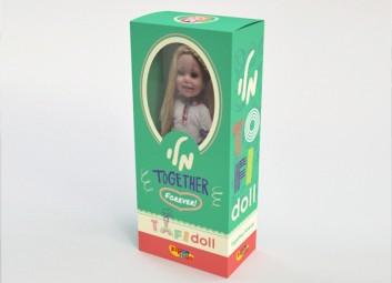 עיצוב אריזה – מותג בובות – TOFI Doll פרויקט
