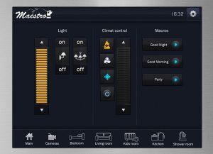 Web3D | GUI | ממשק משתמש למערכת Maestro של CDI