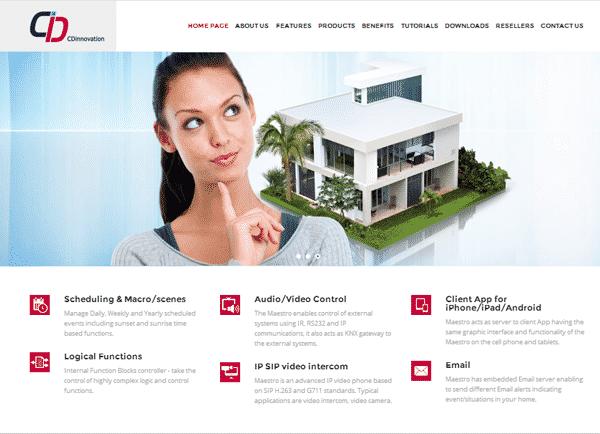 בניית אתר אינטרנט תדמיתי : CDI
