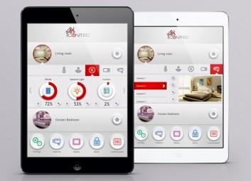 עיצוב אפליקציה | GUI – קונטק פרויקט