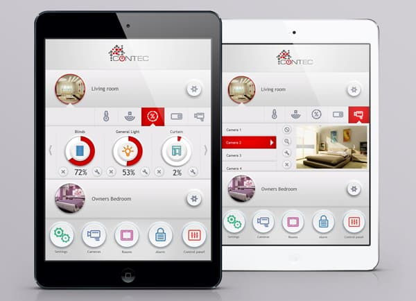 Web3D | פיתוח אפליקציות | GUI | אפליקציה לדוגמה: Contec
