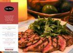 """Web3D   בניית אתרים לעסקים: מסעדת Da Nico, ניו ג'רזי. ארה""""ב"""