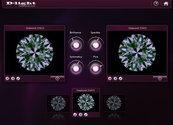GUI, עיצוב אפליקציה: D-light מבית Sarin