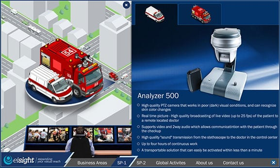 Web3D - מיתוג העסק - elsight