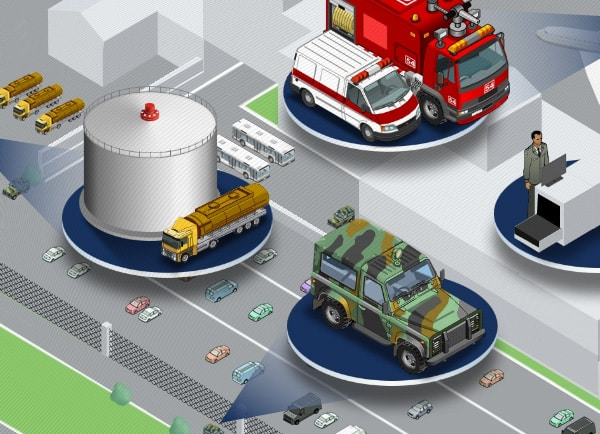 Web3D | מצגות עסקיות | אנימציה | פלאש | עיצוב מצגת ל El-Sight