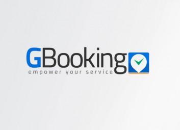 עיצוב לוגו – GBooking פרויקט