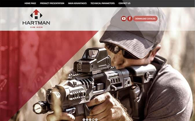 בניית אתר לחברת הרטמן