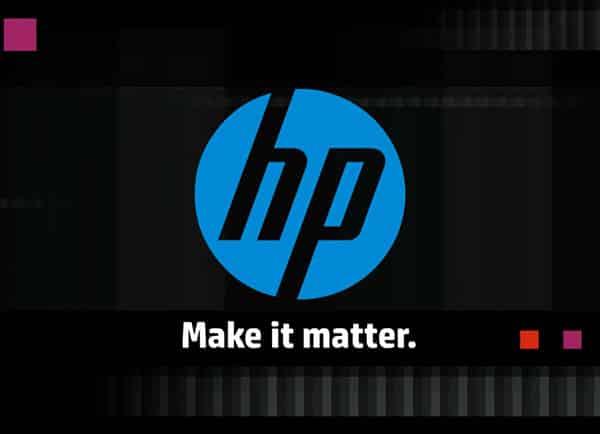 בניית מצגת עסקית לחברת HP