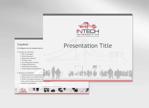 מצגת עסקית: INTECH INTERACTIVE