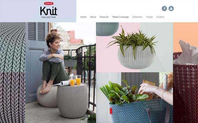 knit, בניית אתר סחר, בניית אתר חנות