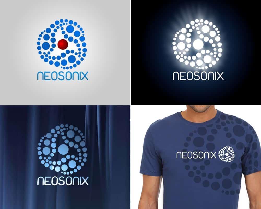 עיצוב לוגו – הרכב מוסיקלי Neosonix