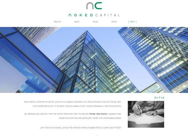 מאמר בניית אתר תדמית | נוקד קפיטל: אתר וורדפרס
