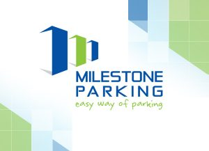 Web3D | מיתוג עסקי | עיצוב לוגו לחברת אינטרפז של המותג Milestone Parking