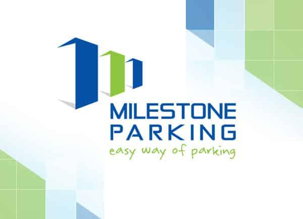 עיצוב לוגו: Milestone Parking