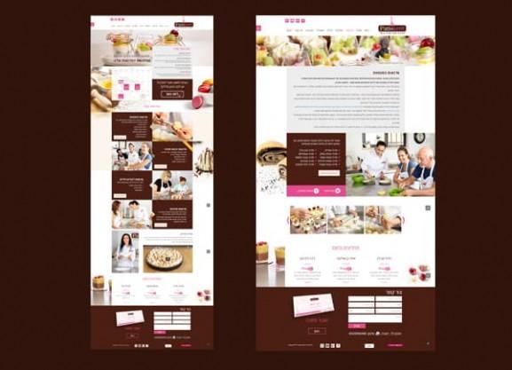 עיצוב ובניית אתר, patissarit, חנות וירטואלית