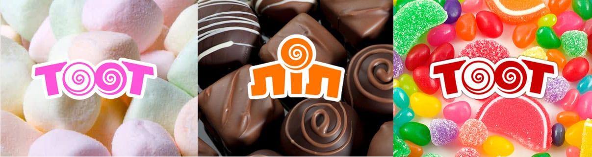 Web3D - מיתוג עסקי - תמונות של ממתקים - חברת toot