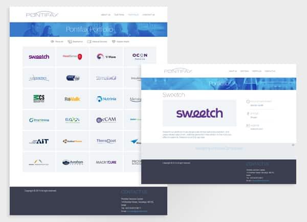 web3d, בניית אתרים לעסקים, אתר תדמית לעסק, pontifax