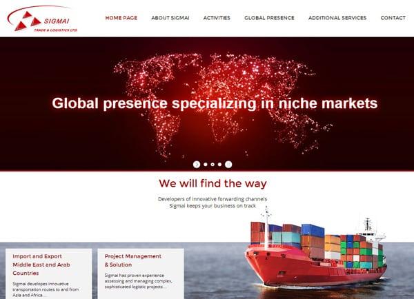 בניית אתר אינטרנט | עיצוב: SIGMAI