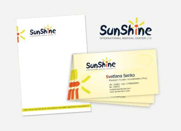 sunshine, פרוייקט מיתוג לעסקים