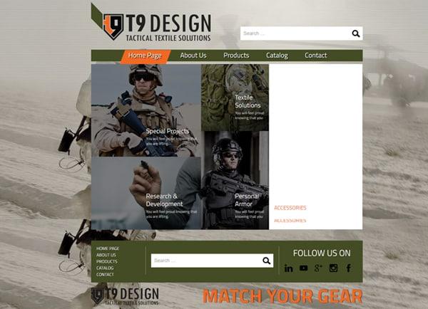 Web3D | בניית אתר אינטרנט: T9