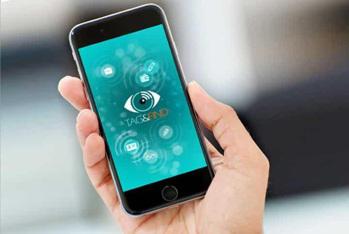 אפיון UX, UI | עיצוב אפליקציה - Tag & Find