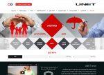 Web3D   בניית אתרים   אתר תדמית   קבוצת ביטוח ופיננסים-Unet