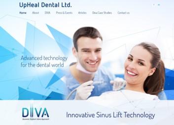 Upheal Dental – רפואה דנטלית פרויקט