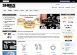 Web3D | אתרי אינטרנט | אתרי מסחר אלקטרוני לדוגמה: תכשיטי Shiels