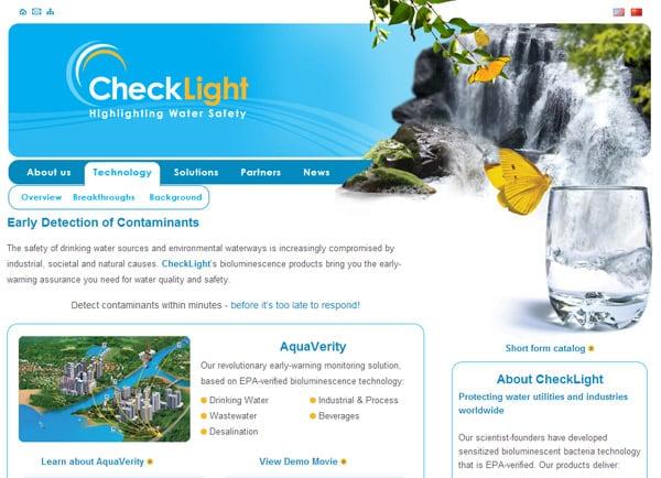בניית אתר: CheckLight