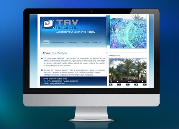 בניית אתר: Tav Medical