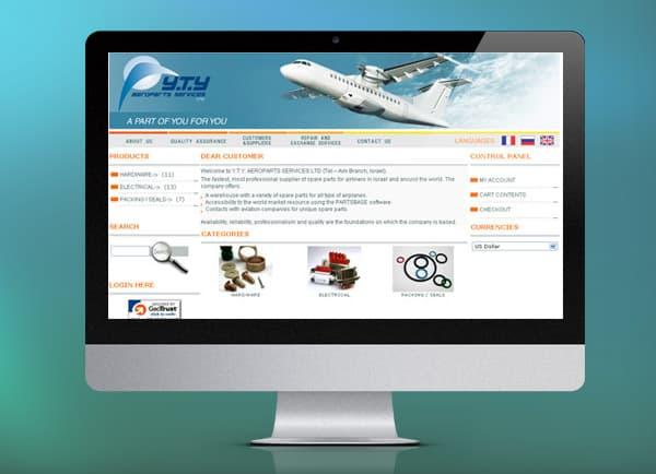 yty, בניית אתר לעסק קטן, בניית אתר מכירות באינטרנט