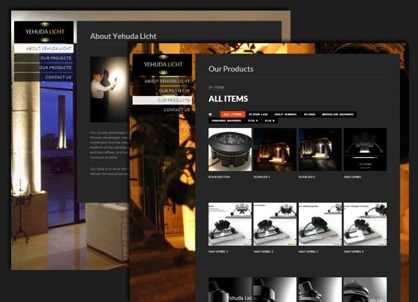 Web3D | בניית אתרים | דוגמה לאתר: יהודה ליכט