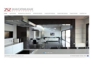 Web3D | עיצוב אתר אינטרנט | אתר לדוגמה: אדריכלית זהבית שפיצר זוהר