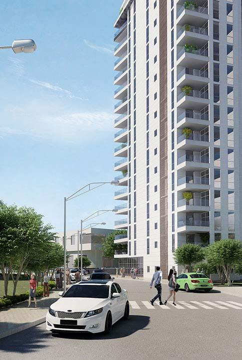 Web3D - תלת מימד - בניין מגורים - פרויקט ליאת