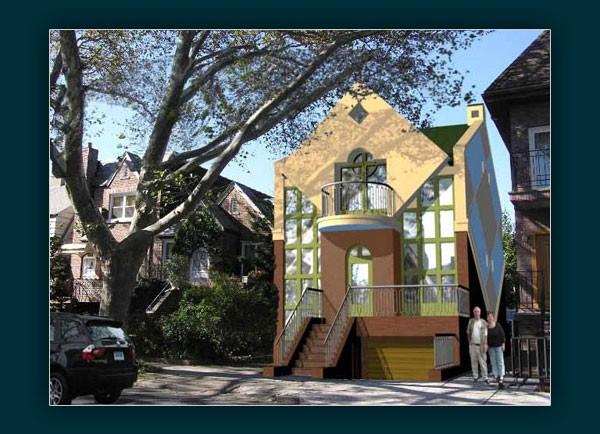 הדמיות אדריכליות בית מגורים בניו יורק