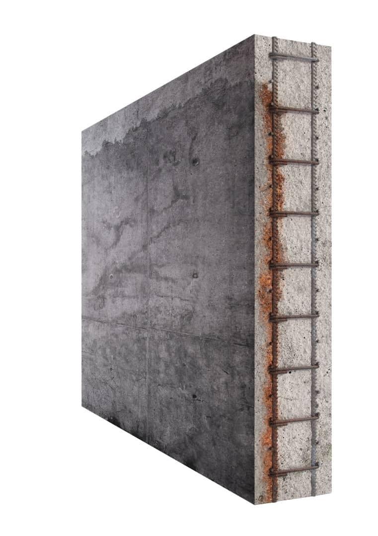 הדמיות תלת מימד | תעשייה | הדמיית קיר בטון