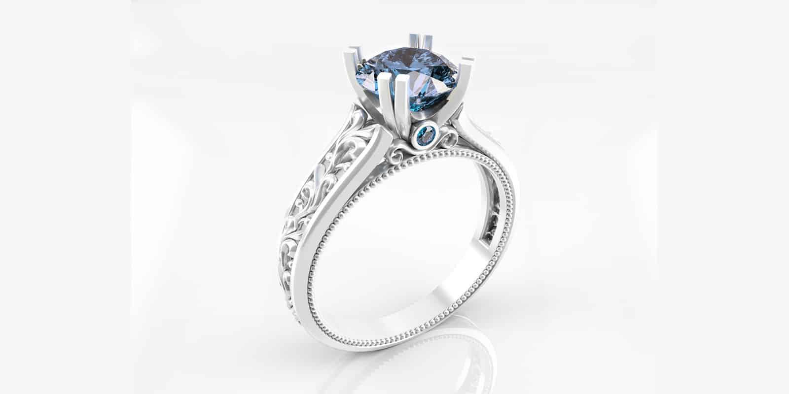הדמיות תלת מימד | טבעת | תכשיטים | טבעות יהלום