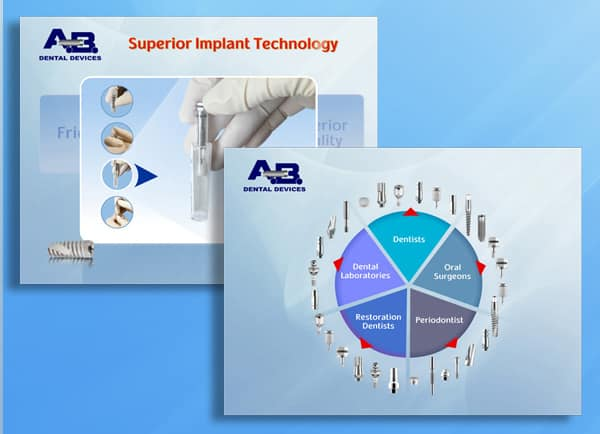 Web3D - abdental presentation - עיצוב מצגות