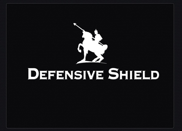 Web3D - defensive shield logo - אינטראקטיב