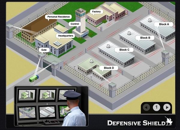 Web3D - defensive shield - בניית מצגות עסקיות