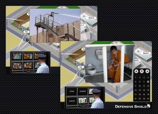 Web3D - defensive shield logo - מצגת עסקית
