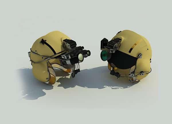 Web3D - הדמיות תלת מימד - קסדות של אלביט