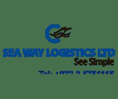 web3d, sea way לוגו, קטלוגים, כרטיס ביקור
