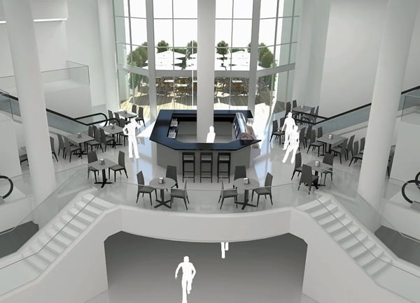 Web3D - הדמיות אדריכליות - קניון סימול