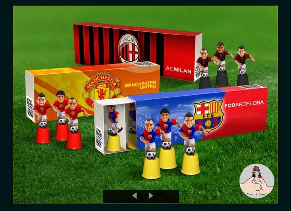Web3D - מיתוג עסקי - soccer