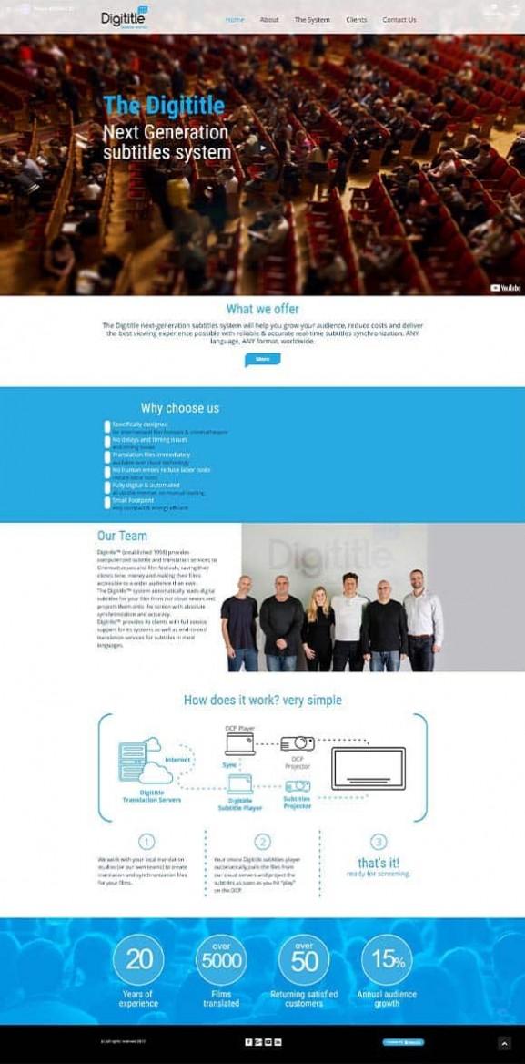 digititle, בניית אתרים, web3d, עיצוב אתרים