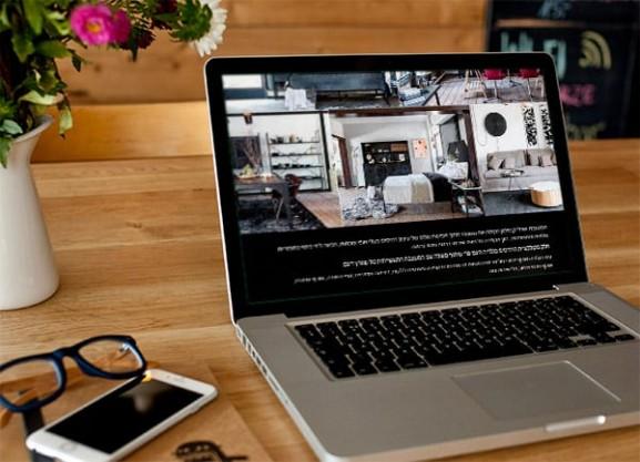 web3d, פיתוח מיניסייט, אתר, עמוד אחד, vgallery