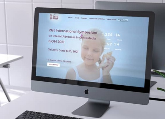 פיתוח אתר אינטרנט, כנסים רפואיים, isom 2021