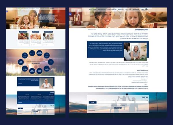 עיצוב אתר אינטרנט, נילי ריימונד, web3d