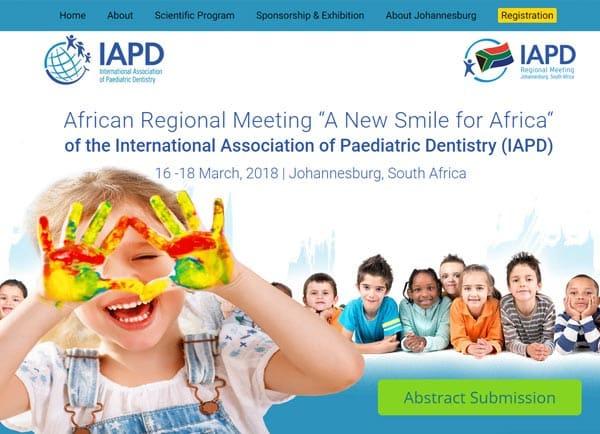 הקמת אתר: כנס IAPD 2018 תנומה ראשית של פרויקט